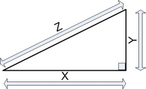 right angle pythagoras