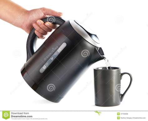 modern-kettle-pouring-water-cup-isolated-white-background-47166998